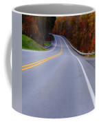 Driving Through Fall Coffee Mug