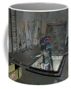 Droid Discovering A Weapons Cache Coffee Mug