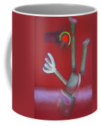 Falling Figure Coffee Mug