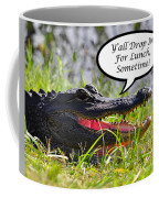 Drop In For Lunch Greeting Card Coffee Mug by Al Powell Photography USA