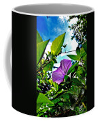 Droplets On Petal Coffee Mug