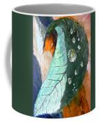 Drops On A Leaf Coffee Mug by Daniel Janda