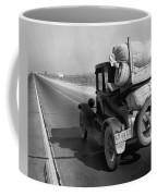 Drought Refugee, 1936 Coffee Mug