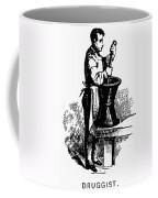 Druggist, 19th Century Coffee Mug