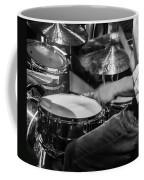 Drummer At Work Coffee Mug