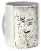 Drunk Girl Coffee Mug