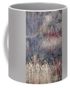 Dry Grasses And Bare Trees Coffee Mug