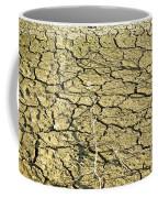 Dry Soil In Lake Bottom During Dryness Coffee Mug
