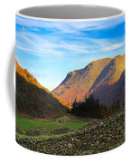 Dry Stone Walls In Patterdale In The Lake District Coffee Mug