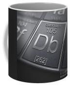 Dubnium Chemical Element Coffee Mug