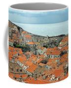 Dubrovnik Rooftops And Walls Coffee Mug