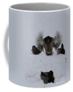 Duck Crash Landing Coffee Mug