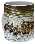 Duck Family Coffee Mug