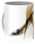 Duck Feather And Water Drops Coffee Mug