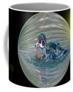 Duck In A Bubble  Coffee Mug