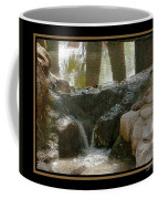Duck In Pond Coffee Mug