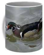 Angry Wood Duck Coffee Mug