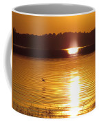 Duck On Sunset Coffee Mug