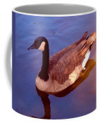 Duck Swimming Coffee Mug