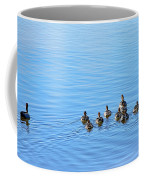 Ducklings Day Out Coffee Mug by Kaye Menner