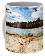 Ducks At The Beach Again Coffee Mug