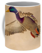 Ducks In Flight Coffee Mug