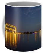 Duluth Harbor At Night Coffee Mug