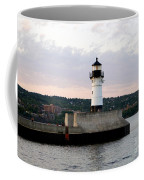 Duluth Mn Lighthouse Skyline Coffee Mug