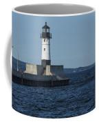 Duluth N Pier Lighthouse 40 Coffee Mug