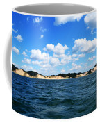 Dunes And Lake Michigan Coffee Mug by Michelle Calkins
