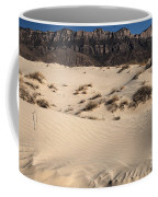 Dunes At The Guadalupes Coffee Mug