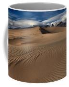 Dunes Ripples And Clouds Coffee Mug