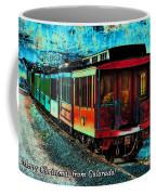 Durango Colorado Christmas Coffee Mug