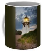 Dusk At Covehead Harbour Lighthouse Coffee Mug