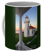 Dusk At Mukilteo Lighhouse Coffee Mug