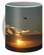 Dusk Fly Over Coffee Mug