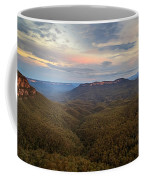 Dusk Over Mount Solitary Coffee Mug