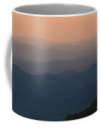 Dusk Over The Mountains Coffee Mug