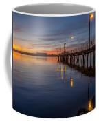 Dusk Settles On Del Norte Pier Coffee Mug