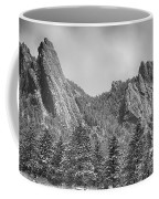 Dusted Flatiron In Black And White  Coffee Mug