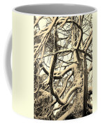 Snow Dusted Limbs Coffee Mug