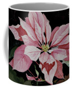 Dustie's Poinsettia Coffee Mug