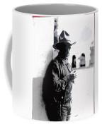 Dustin Farnum On  Set Of Light Of The Western Stars  Las Moros Ranch Southern Arizona 1918-2013  Coffee Mug