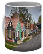 Dutch Shops On Windmill Island In Holland Michigan Coffee Mug