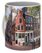 Dutch Style Traditional Houses In Amsterdam Coffee Mug