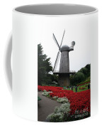 Dutch Windmill In Golden Gate Park Coffee Mug