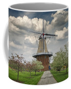 Dutch Windmill The Dezwaan On Windmill Island In Holland Michigan Coffee Mug
