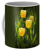 Dutch Yellow Tulip Flowers On Windmill Island In Holland Michigan Coffee Mug