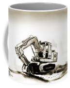 Duty Dozer In Sepia Coffee Mug by Kip DeVore