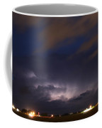 Dying Storm Cells With Fantastic Lightning Coffee Mug